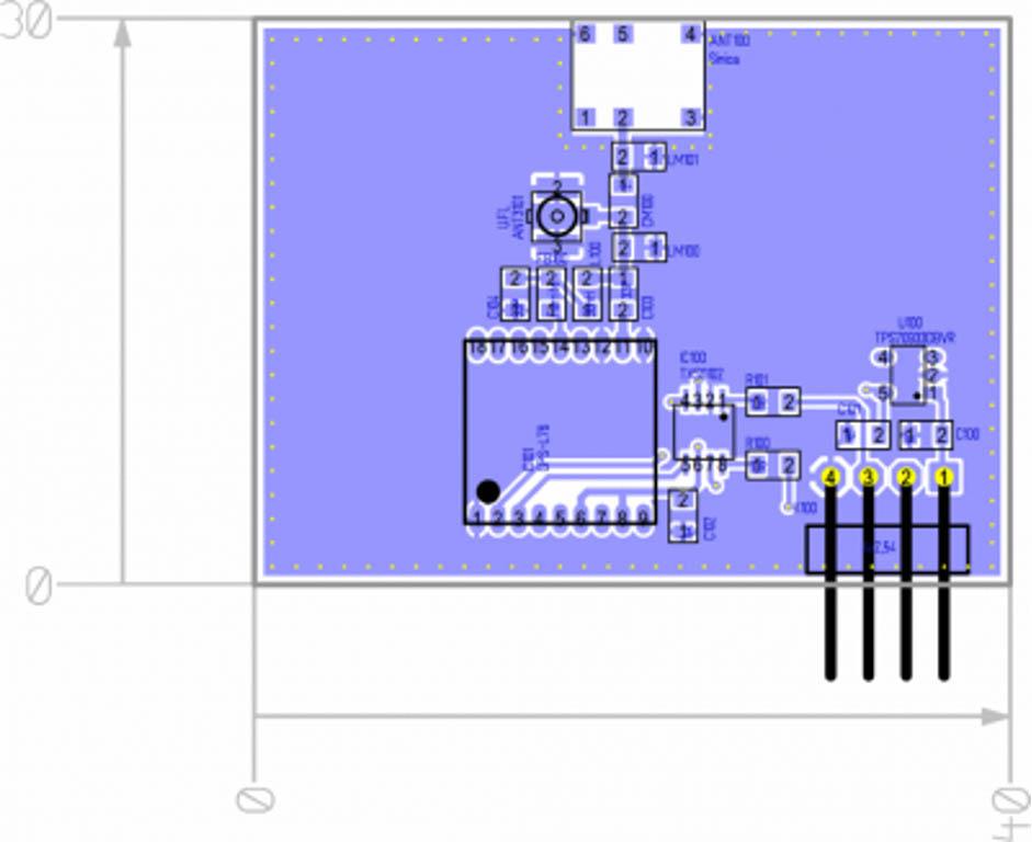 GnSS Module PCB layout