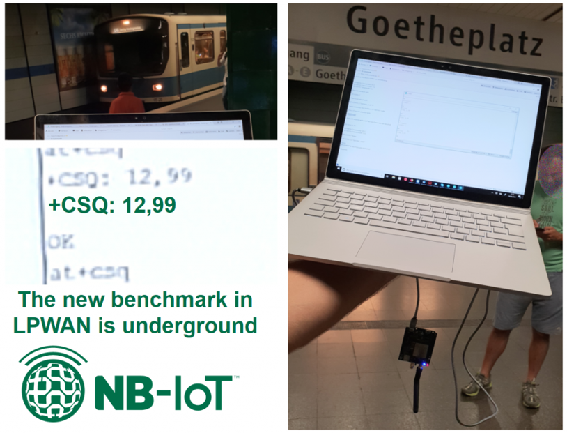 Does NB-IOT work underground?