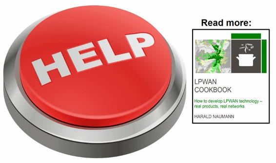 Which LPWAN do you use for an emergency call button?