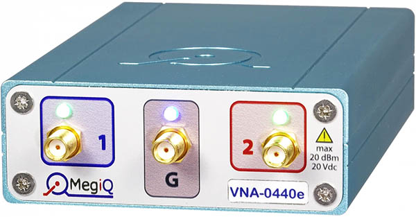 A photgraph of the MegiQ VNA-0440e