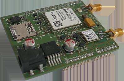 akorIoT module with aduino header